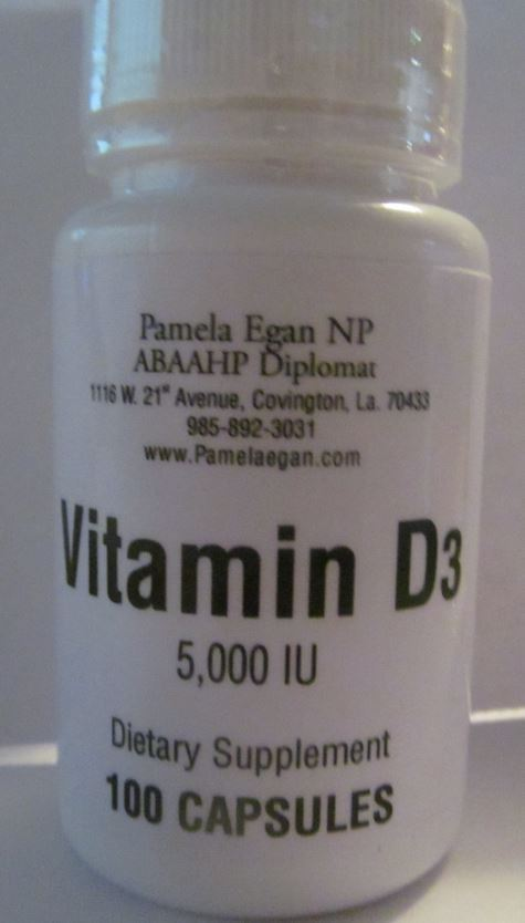 Vitamin D3 Supplements - 5000 IU