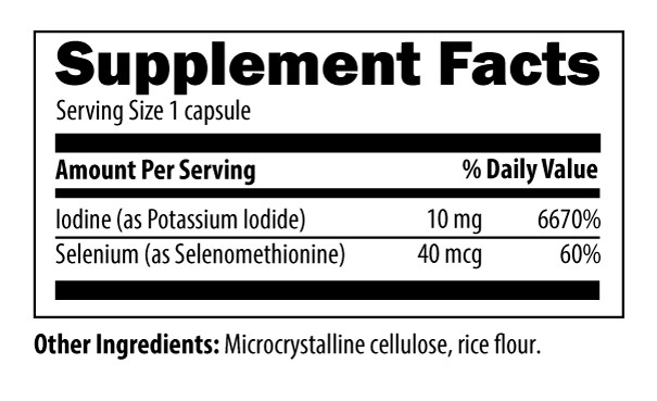 DFH Iodine Supplements