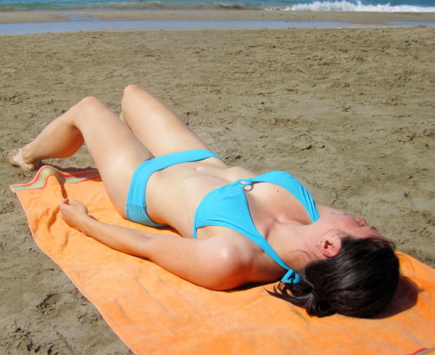 vitamin D sunbathing